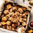 Croquettes de patate douce au parmesan