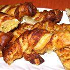 Torsades moutarde-parmesan par Khadija Moussou