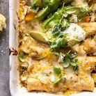 Enchiladas végétariennes au maïs et courgette