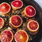 Poulet aux oranges sanguines