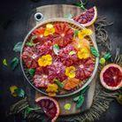 Tarte frangipane orange sanguine