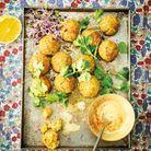 Falafels de pois chiches et patate douce