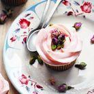 Cupcakes rose pistache