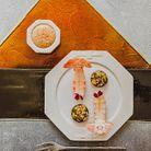 Langoustines à la mayonnaise ponzu