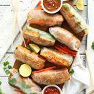 Rouleaux de printemps au pad thaï vegan