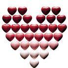 Les cœurs de chocolat Favarger