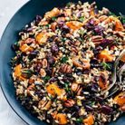 Salade d'automne au riz sauvage
