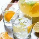 Sangria blanche limonade