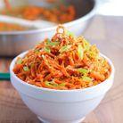 Spaghettis de carotte
