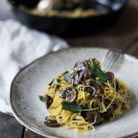 Spaghettis de courge recette
