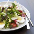 La Vraie Salade Nicoise Sans Legumes Cuits