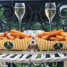 Panacher frites et champagne !