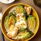 Halloumi et salade grillés