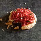 Galettes à la tomate et à l'origan
