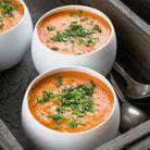 Gaspacho de carottes concombre