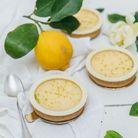 Tartelette citron basilic