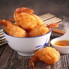 Les beignets de crevettes