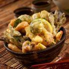 Les tempuras