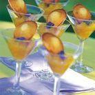 Compote d'ananas et madeleines fondantes