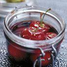 Crumble de pistaches vertes et cerises au cherry