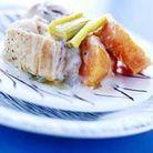 Blanquette de veau à l'orange et aux patates douces