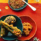 Beignets de légumes aux épices