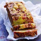 Cake-crumble fraises et rhubarbe