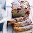 Cake framboises pour un brunch