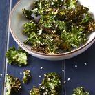 Chips de kale à la sauce soja