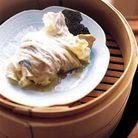 Chou chinois farci au foie gras et à la truffe