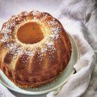 Gâteau aérien au lait de coco