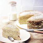 Gâteau de crêpes au citron