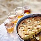 Gâteau un peu « cannelé » à la banane
