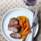 Jarret de veau paprika, carottes