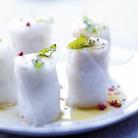 Makis de foie gras et risotto aux truffes