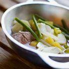 Mijoté de veau aux légumes oubliés
