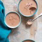 Mousse au chocolat sans sucre