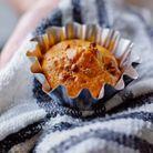 Muffins potiron et mulberry