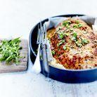 Pain de veau à l'estragon et quinoa