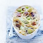Parmentier de rhubarbe au quinoa