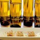 Petits cubes de tarte choco-banane