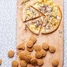 Pizza blanche au comté