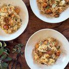 Risotto de quinoa au butternut