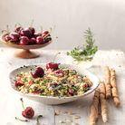 Salade de boulgour aux cerises