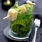 Salade de crozets au Comté et radis