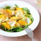 Salade de haddock, pamplemousse