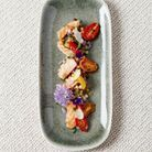 Salade fregola sarda et saumon gravlax