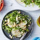 Salade poire, comté, betterave jaune