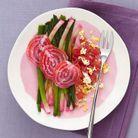 Salade poireaux-betteraves