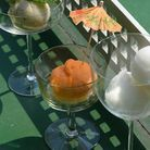 Sorbet orange, carotte et gingembre